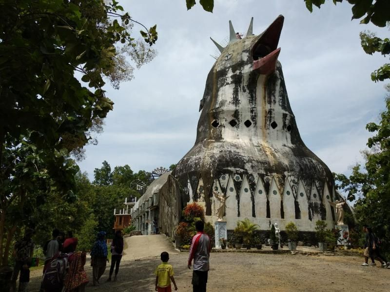 gereja ayam yogya