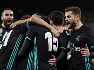 Saatnya Madrid Akhiri Tren Negatif