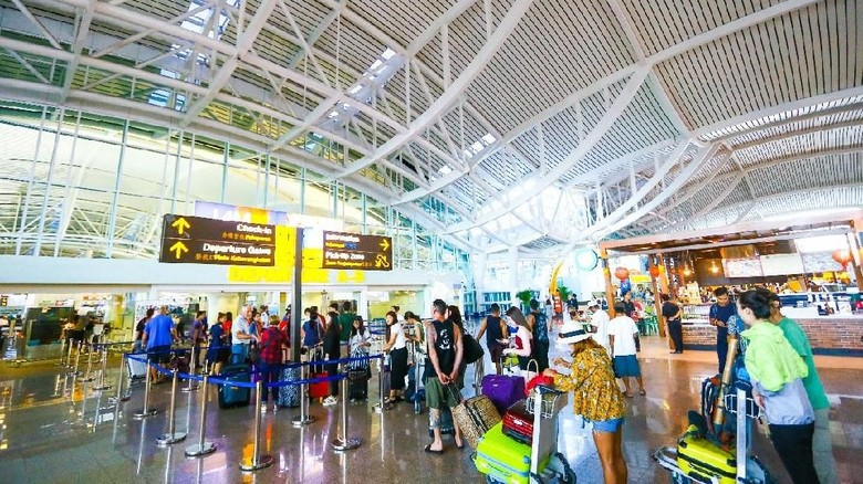 Suasana Bandara Ngurah Rai (dok Istimewa)