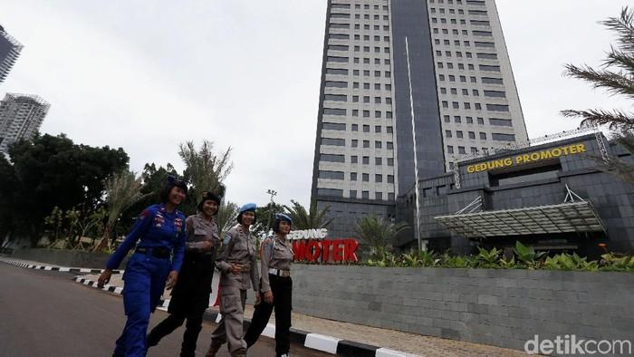 Gedung Promoter Polda Metro Jaya yang pembangunannya menghabiskan dana sebesar Rp 498 miliar telah diresmikan, Jumat (19/1/2017). Peresmian dilakukan oleh Kapolri Jenderal Pol Tito Karnavian.