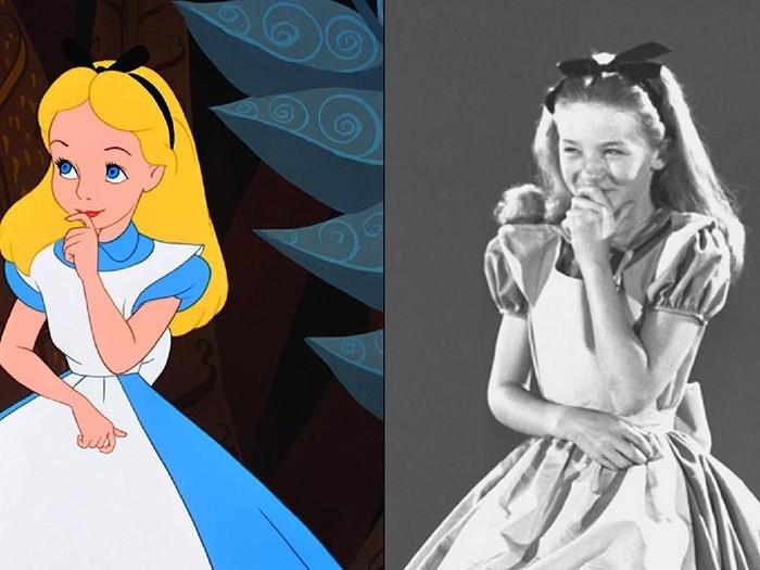 Mirip Banget Ini Sosok Nyata Alice Di Film Kartun Alice In Wonderland