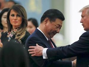 Panas Dingin Hubungan China-AS Selama Trump Berkuasa