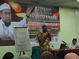 Ustaz Zulkifli: TNI-Polri Teman Kita, Jangan Mau Diadu Domba