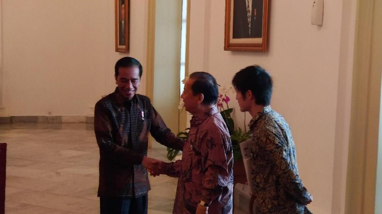 Jokowi dan Utusan Shinzo Abe Bahas Penyelesaian Proyek Infrastruktur