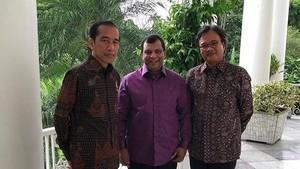 Saat Bos AirAsia Bertemu Presiden Jokowi dan Memuji Istana Bogor