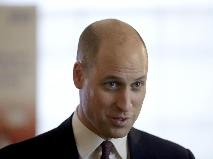 Potongan rambut baru Pangeran William ini menarik perhatian dunia. (Foto: dok. Getty Images)