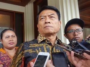 Moeldoko Merapat ke Kantor Wiranto, Bahas Konflik Hanura?