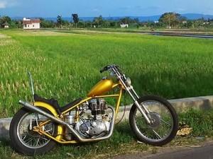 Jokowi Pesan Motor Chopper Warna Emas dari Bengkel di Lebak Bulus