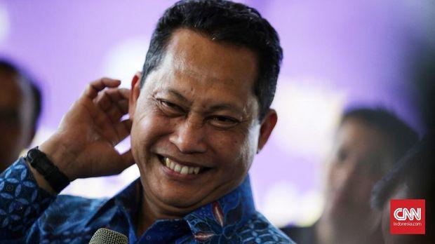 Kepala BNN Budi Waseso, di Jakarta, 19 Januari. Ia menyebut ada 36 tempat hiburan di Jakarta yang menjadi sarang narkoba.