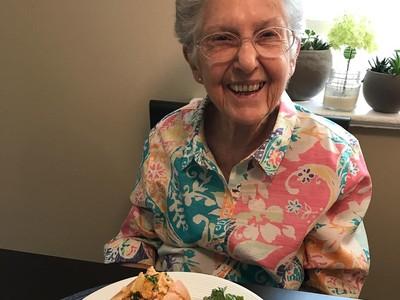 Foto: Keseharian Anne Fraser, Nenek yang Jadi Vegan di Usia 96 Tahun