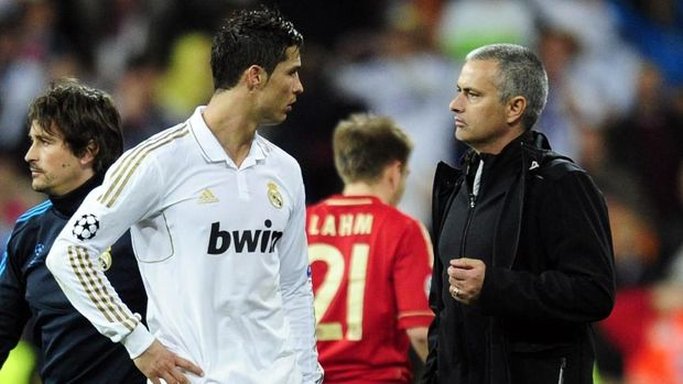 Jose Mourinho pernah bekerja sama dengan Ronaldo saat di Madrid.