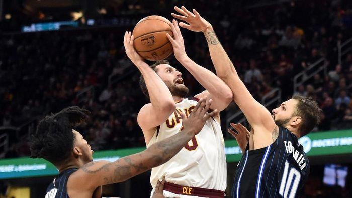 Cleveland Cavaliers kalahkan Orlando Magic (Ken Blaze-USA TODAY Sports)