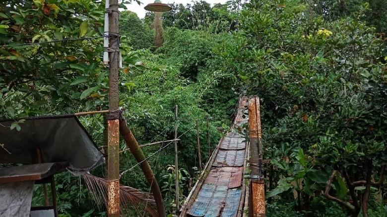 Perbaikan Jembatan Gantung di Jagakarsa Diusulkan Masuk Program BKSP