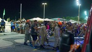 Polisi Brazil Bubarkan Pesta Karnaval di Pantai Copacabana