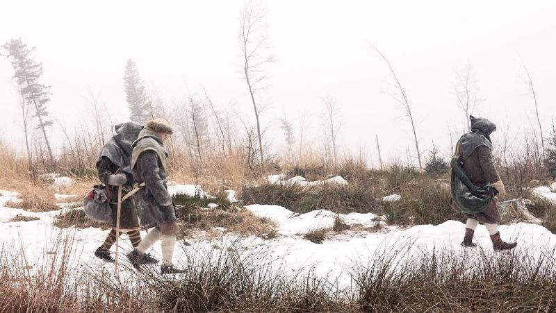 Aksi mendaki yang tidak biasa ini dilakukan oleh Mieszko Polak bersama tiga rekannya. Pemuda Polandia ini memiliki proyek bernama Projekt Viking. (Projekt Viking/Facebook)