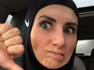 Hijabers Ini Terang-Terangan Kritik Hijab Sport Nike, Ada Apa?