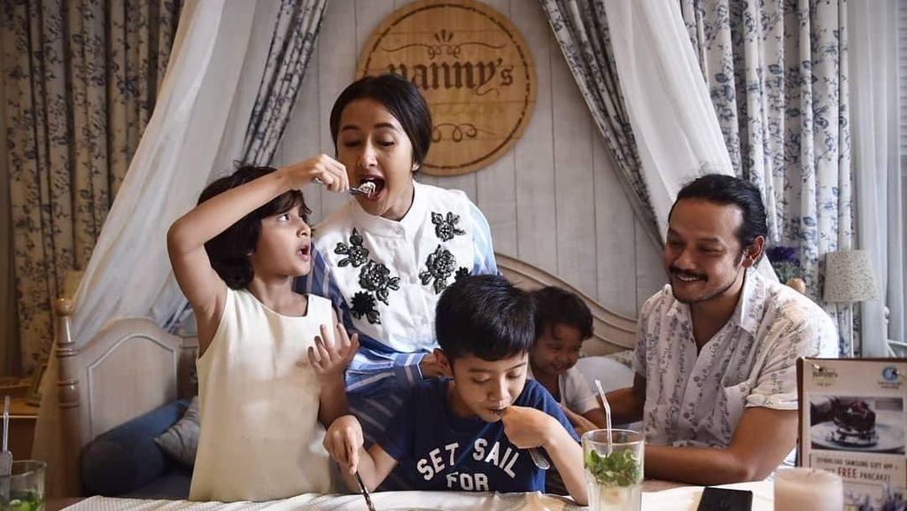 Sayur Bebanci, Jadi Hidangan Spesial  Lebaran Keluarga Dwi Sasono