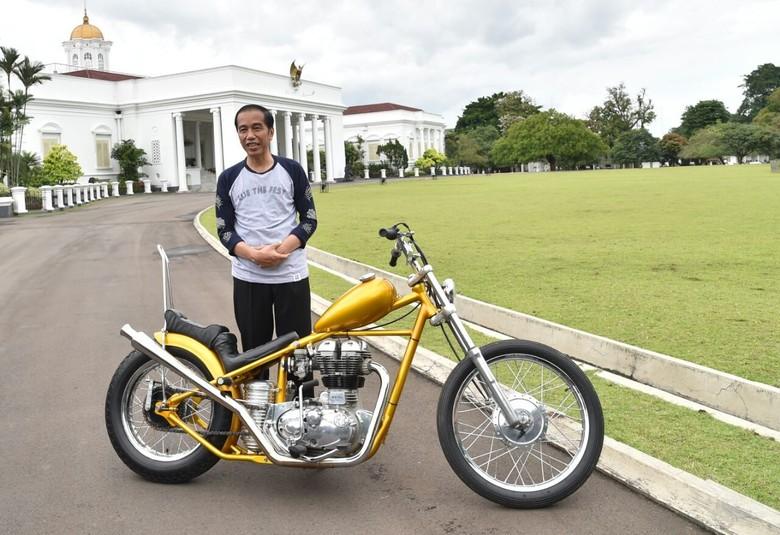 Jokowi Bakal Touring Pakai Chopper, Ini Persiapan Korlantas