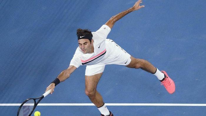 Roger Federer melangkah ke babak keempat Australia Terbuka (Edgar Su/Reuters)