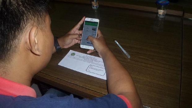 Aplikasi ini diharapkan menjadi media pelatihan menghadapi UNBK