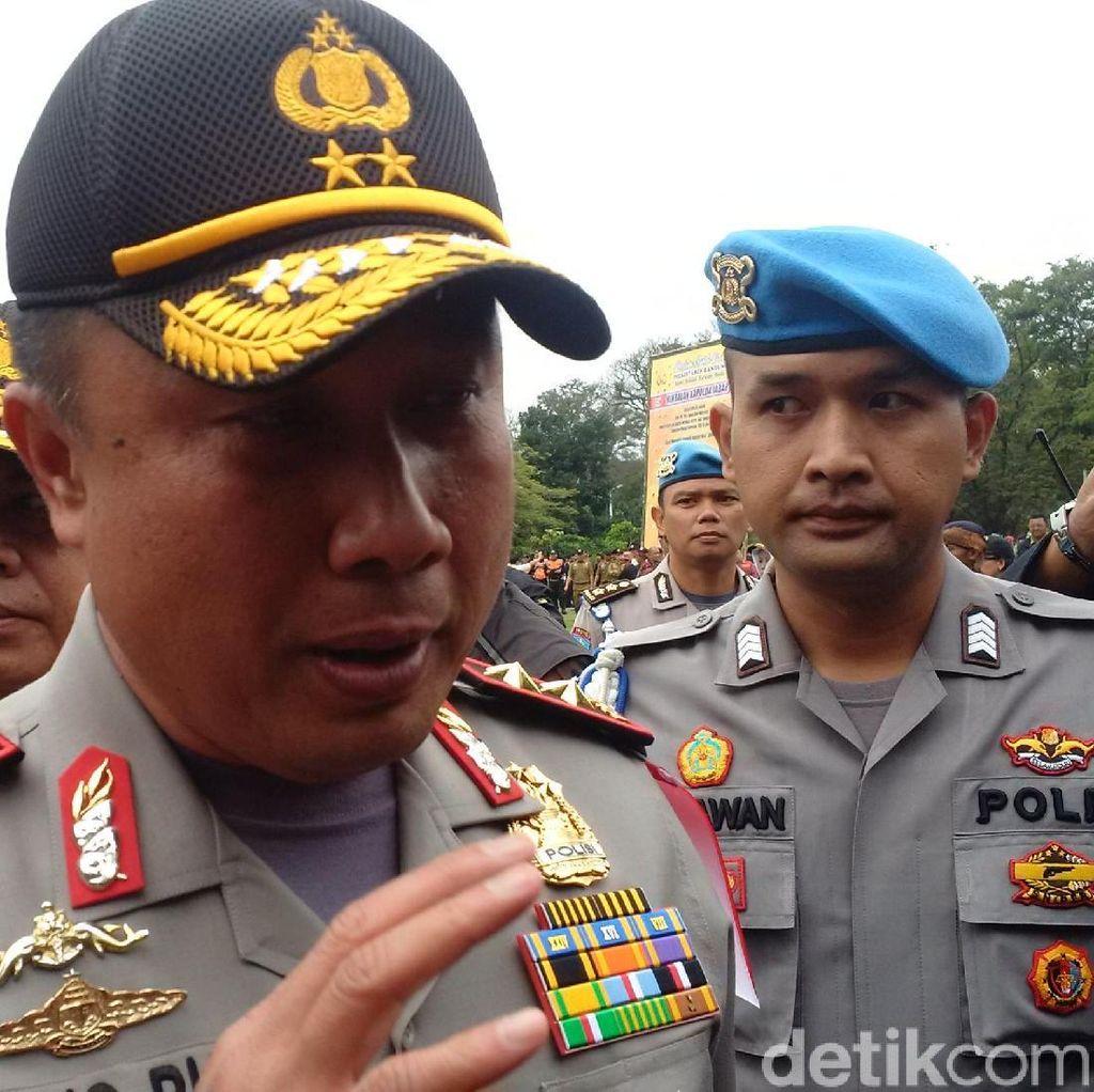 Kapolda Jabar: Berdasar Pemeriksaan yang Dibakar Itu Bendera HTI