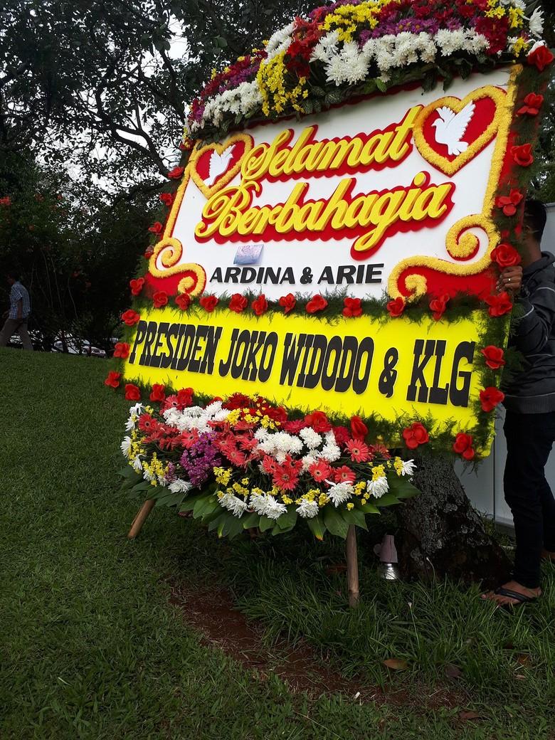 Kenal Lama, Keluarga Ardina Rasti Senang Dapat Karangan Bunga dari Jokowi
