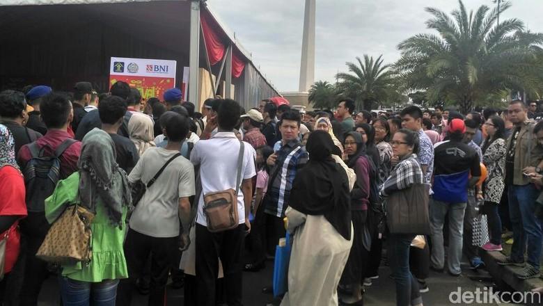 Kuota Paspor Habis, Pengunjung Festival Imigrasi di Monas Kecewa