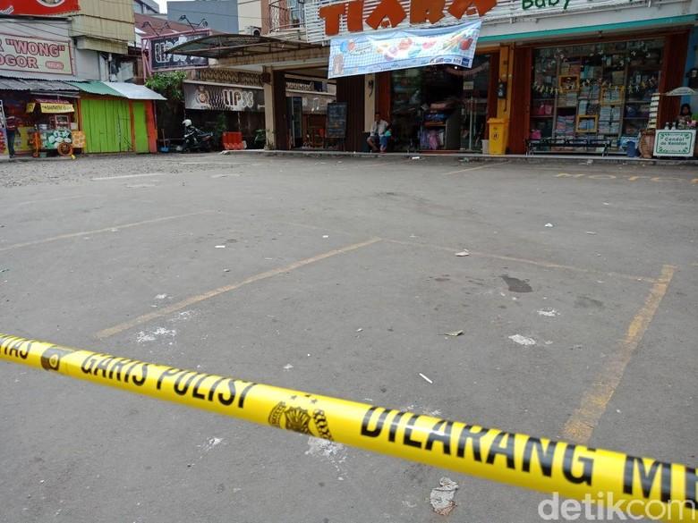 Lokasi Kader Gerindra Tertembak Anggota Brimob Digaris Polisi