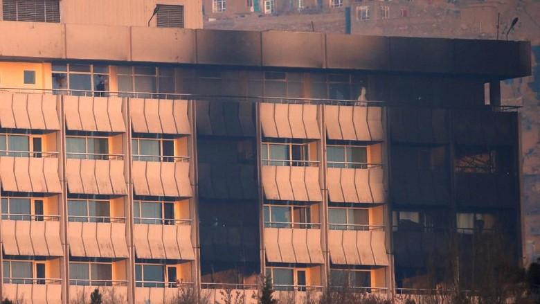 Penyerangan di Hotel Mewah Afghanistan Tewaskan 18 Orang