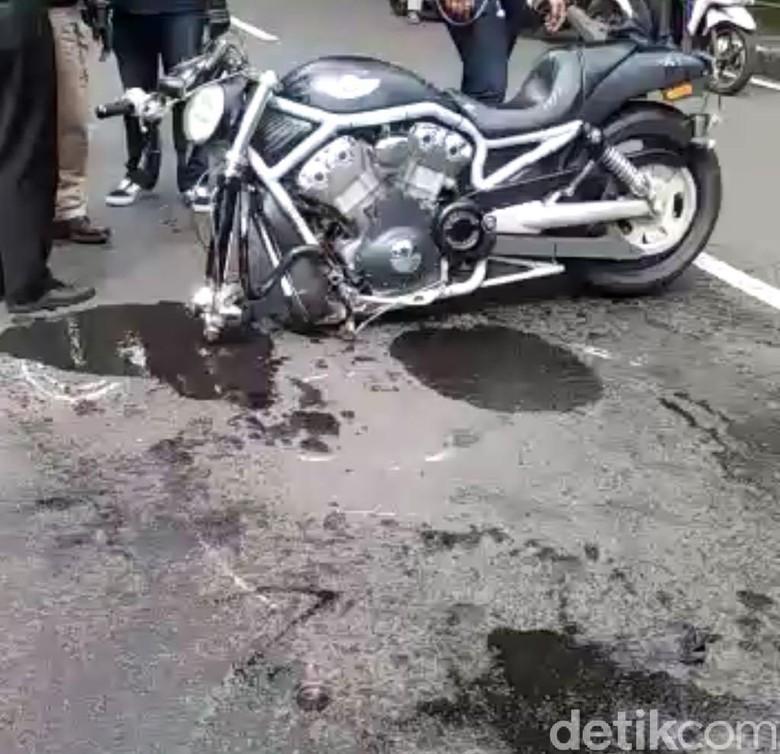 Foto: Kecelakaan moge (IST)