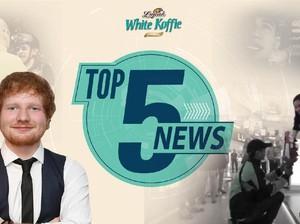Viral Video Driver Go-Jek Lamar Kekasih, Ed Sheeran Tunangan