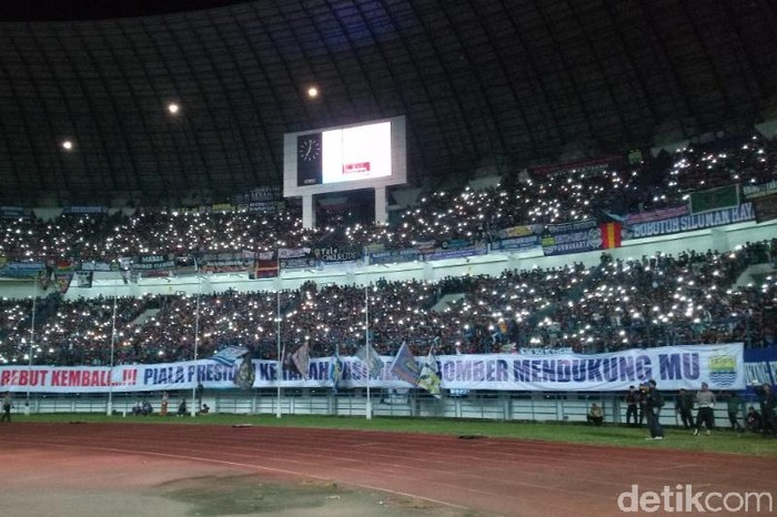 Stadion GBLA (Foto: Wisma Putra/detikSport)
