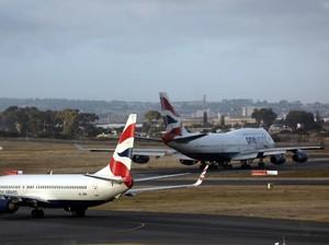 Diduga Mabuk, Pilot British Airways Ditangkap Sebelum Lepas Landas