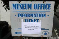 Informasi pembukaan kembali Museum Bahari (Randy/detikTravel)