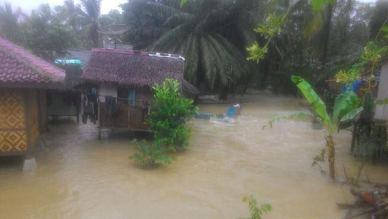 Banjir di Lebak Banten Rendam 3 Desa