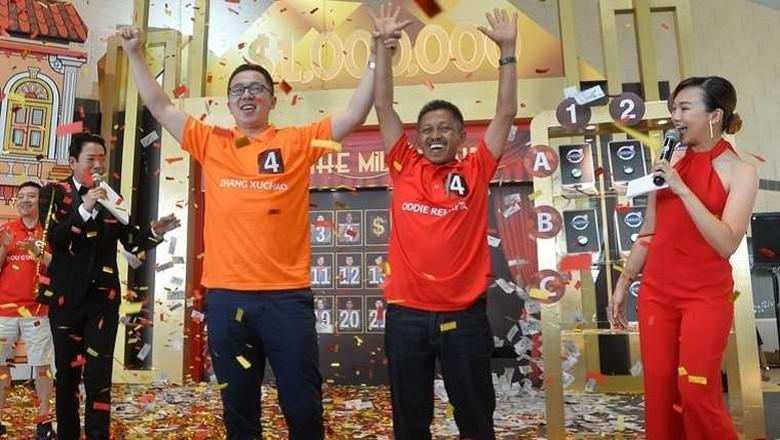 Oddie dari Indonesia dan Zhang dari China (Changi Airport Group)