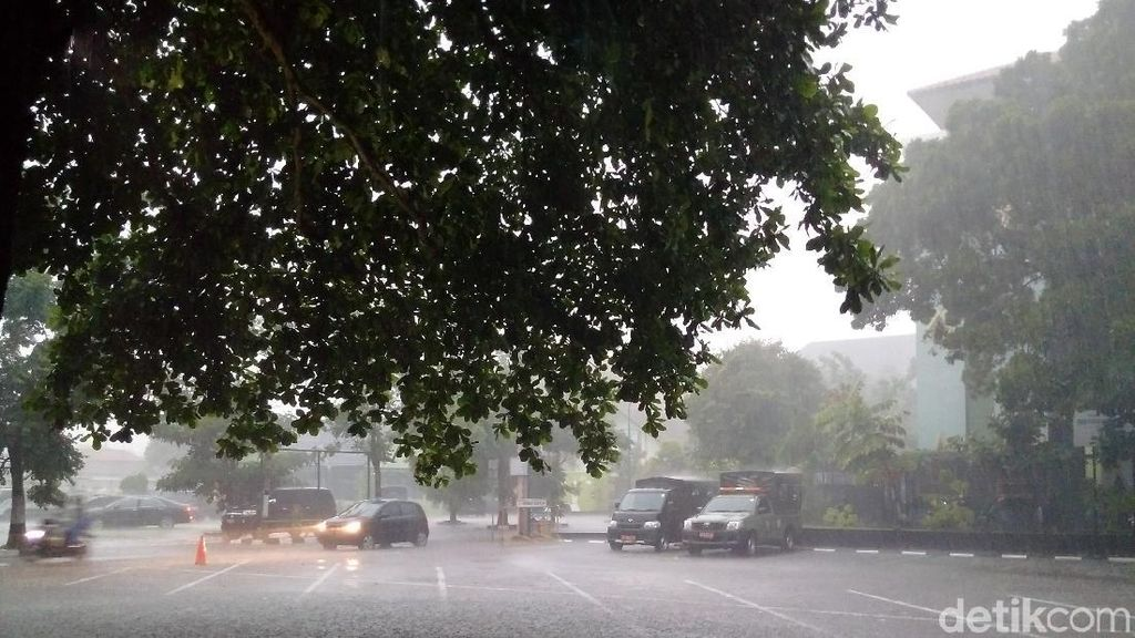 Waspada Lur! Yogya Berpotensi Hujan Lebat-Angin Kencang Hari Ini