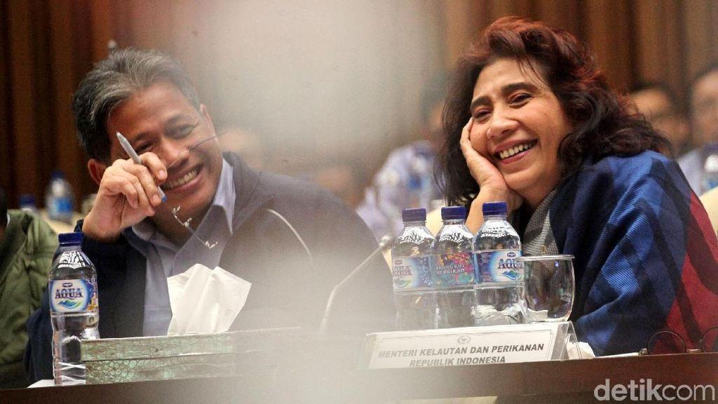 Susi dan Komisi IV DPR Bahas Impor Garam