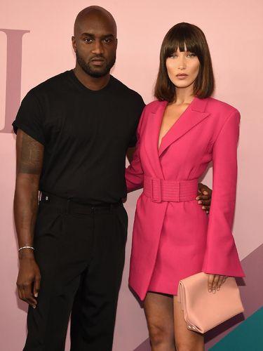Virgil dan Bella Hadid.