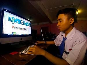 Pelajar Ini Raup Jutaan Rupiah dari YouTube, Apa yang Dilakukannya