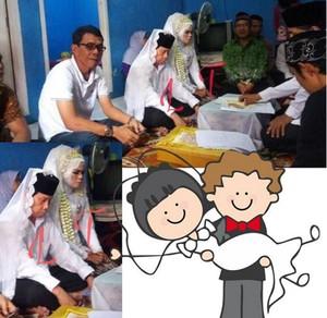 Beredar Foto Komedian Malih Tong Tong Menikah Lagi