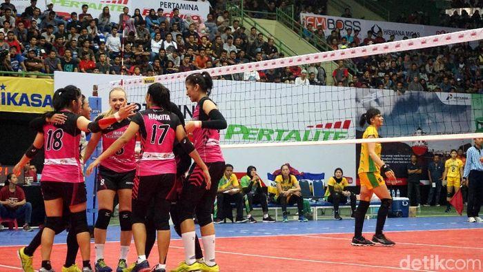 Tim putri Jakarta Pertamina Energi tak ingin mengulang kegagalan di final Proliga 2018 (Foto: Novitasari Dewi Salusi)