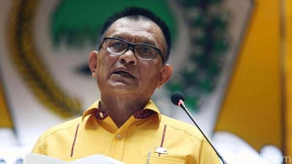 Tutup Rakernas, Sekjen Golkar Sindir Pidato Indonesia Bubar 2030