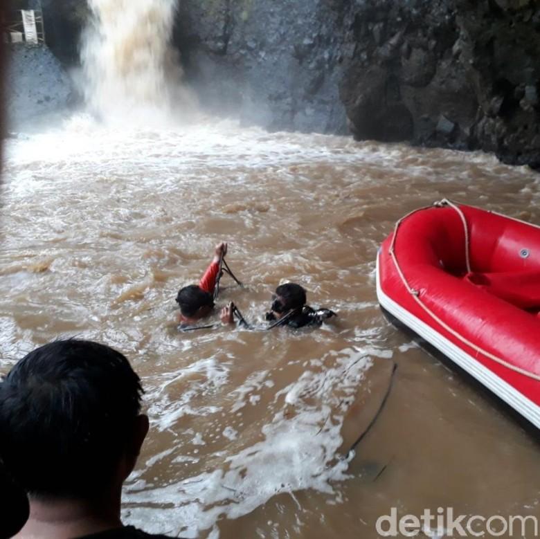 Bocah 10 Tahun Hilang di Curug Indra Sukabumi