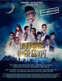 Poster Film Moonrise Over Egypt