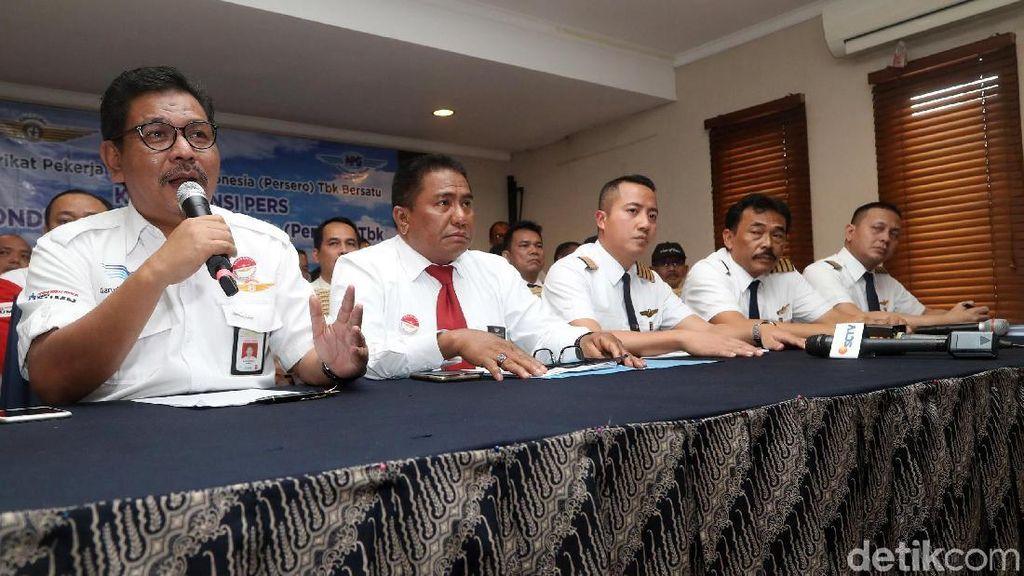 Pilot Garuda Ancam Mogok Kerja Pekan Kedua Juli 2018