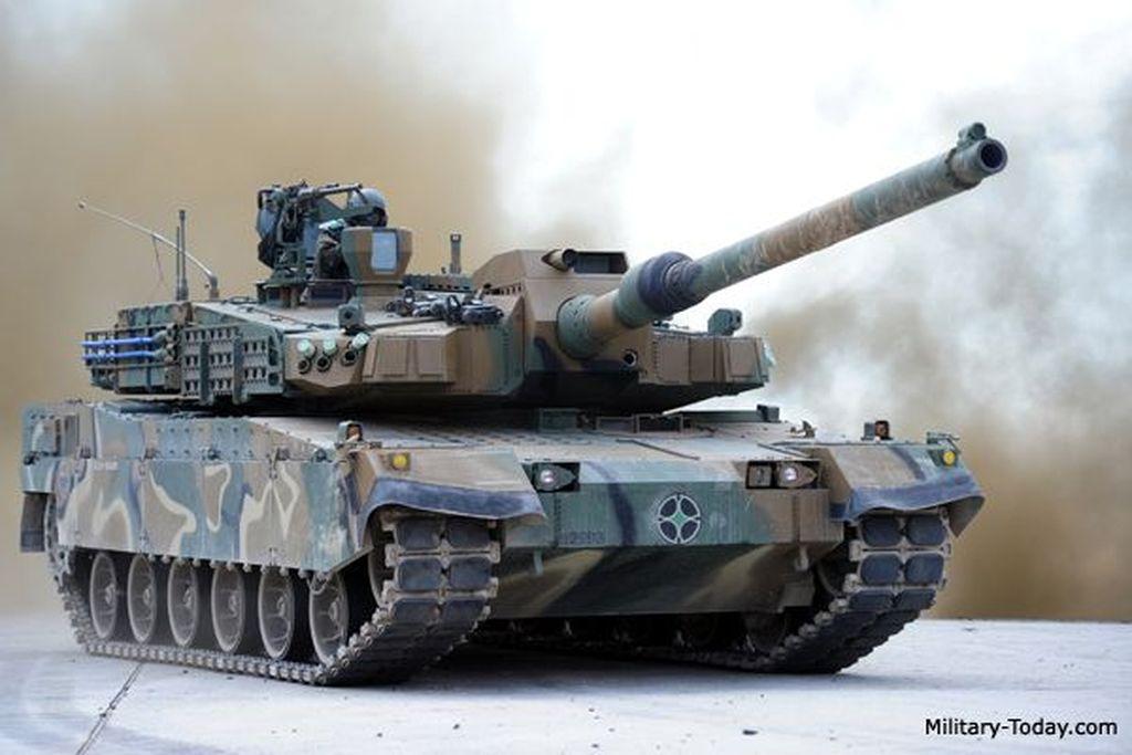 K2 Black Panther ini disebut-sebut salah satu tank tercanggih di dunia saat ini. Foto: Military Today