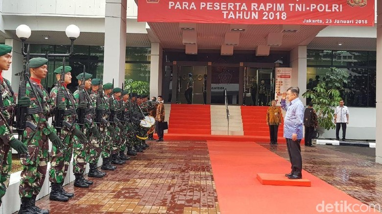 Ada 3 Hajatan Besar, JK Ingatkan Pentingnya Keamanan di 2018