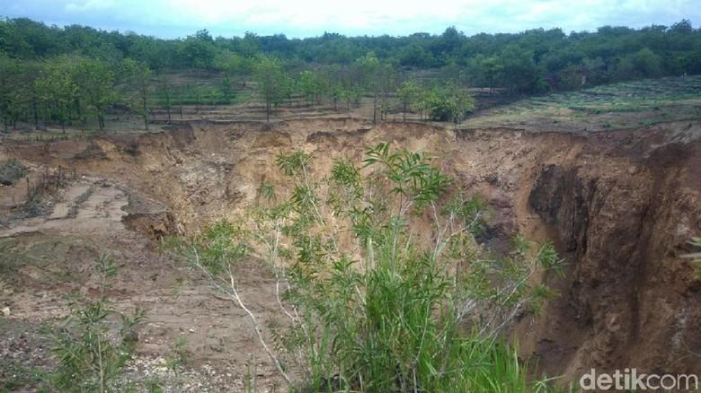Danau Dadakan di Luweng Blimbing Gunungkidul Hilang