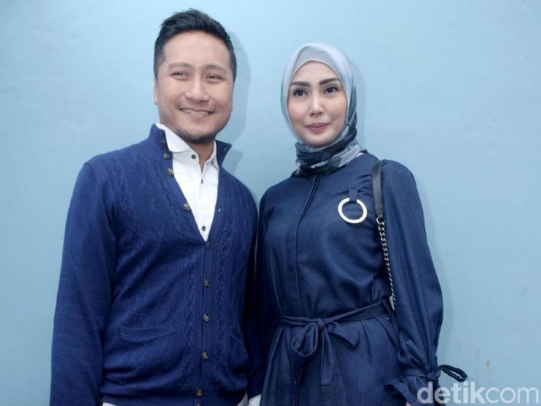 Foto: Arie Untung dan Fenita Arie (Noel/detikHOT)